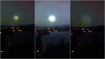 """Luci """"misteriose"""" nel cielo di Canberra: di cosa si tratta?"""