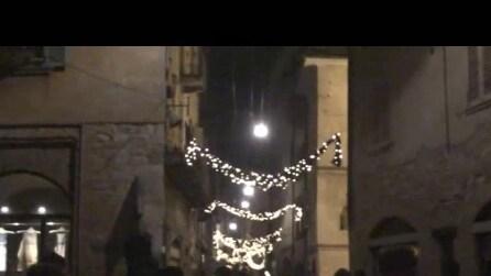 luminarie di bergamo città alta fine anno 2015