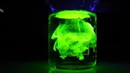 I liquidi che al buio diventano fluorescenti