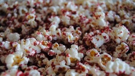 Popcorn al gusto Red Velvet: ecco la gustosa ricetta