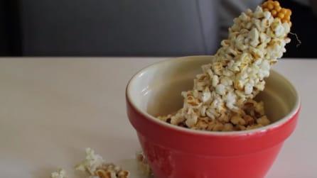 Come fare i pop corn direttamente sulla spiga: l'idea geniale