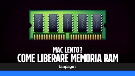 Mac lento? Ecco come liberare RAM