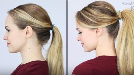 Come fare una perfetta coda di cavallo