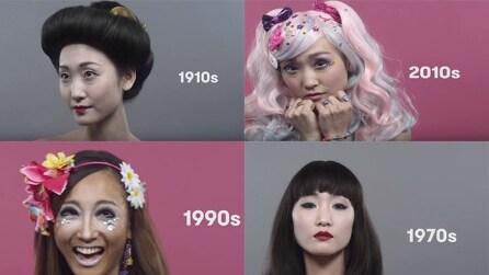 Dalle pallide 'Geishe' alle donne stravaganti di oggi: così è cambiato lo stile in Giappone in 100 anni