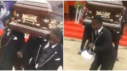 Ecco come viene celebrato un funerale in Africa