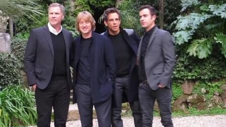Roma, l'arrivo del cast di Zoolander