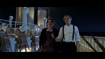 Titanic e la scena sulle stelle cadenti che è stata cancellata