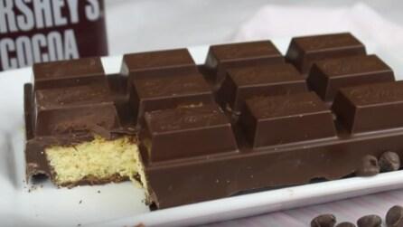 Come fare una torta a forma di barretta di cioccolato
