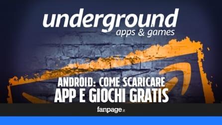 Scaricare gratis app e giochi Android