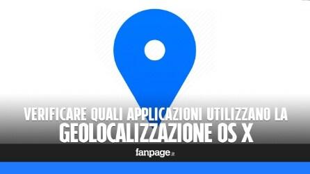 Come verificare quali app OS X utilizzano la geolocalizzazione