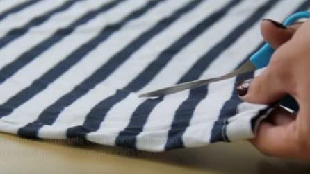Tre idee utili per riciclare una vecchia maglietta