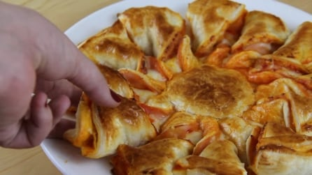 Pizza a stella: ecco la ricetta facile e veloce