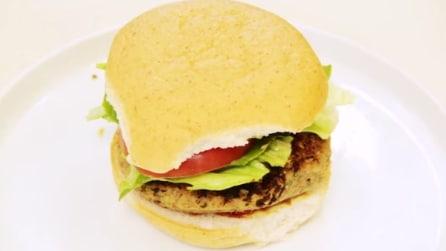 Come fare hamburger vegano: senza carne ma con le lenticchie