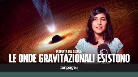 Cosa sono le onde gravitazionali: la scoperta del secolo spiegata in 140 secondi