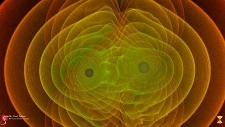 Onde gravitazionali, il primo audio dallo Spazio