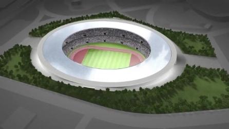 Lo Stadio Olimpico di Tokyo 2020 secondo Tokujin Yoshioka