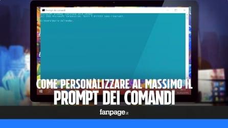 Personalizzare il Prompt dei comandi in Windows 10