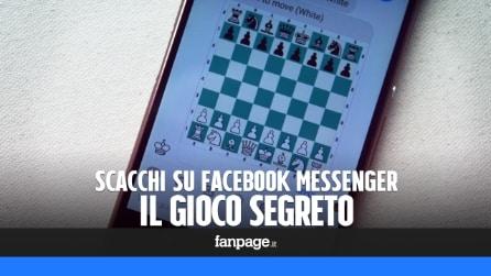 Facebook Messenger: il gioco nascosto degli scacchi