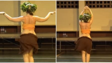 La ballerina di danza del ventre che vi lascerà senza parole