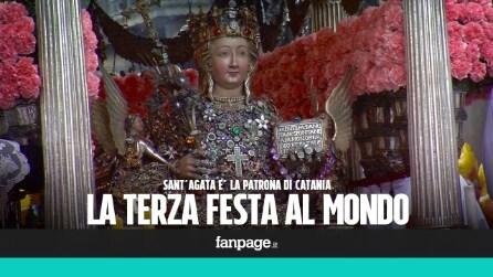 Sant'Agata, a Catania la terza festa religiosa più importante al mondo