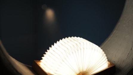 Ecco la prima lampada origami del mondo che è anche bluetooth