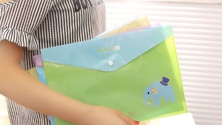 Come realizzare una borsa con una busta per documenti