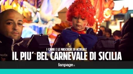 Il più bel Carnevale di Sicilia tra carri allegorici e maschere esilaranti