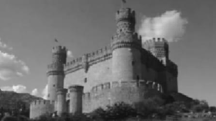 Fissa un punto del castello: un'illusione ottica lo colorerà