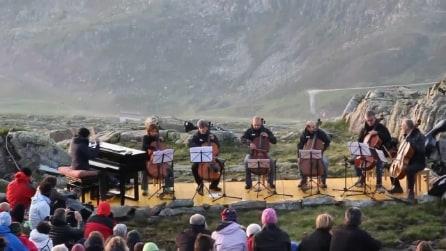 Ezio Bosso - Concerto all'alba sulle Dolomiti