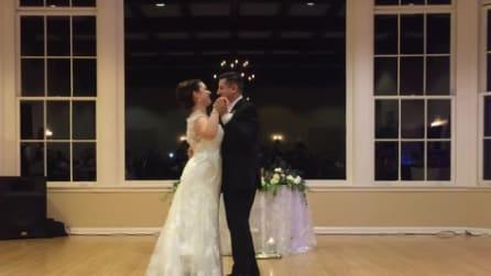 Gli sposi aprono le danze con questa canzone: il romantico ballo di nozze