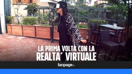 Realtà virutale: le reazioni di chi l'ha provata la prima volta con il Samsung Gear VR