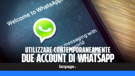Utilizzare due numeri WhatsApp contemporaneamente in un unico smartphone