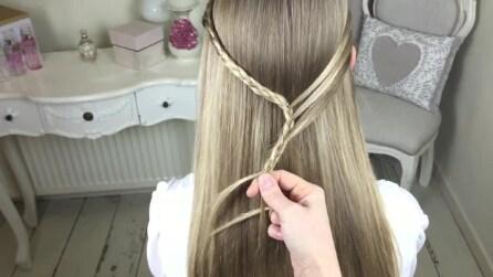 Intreccia i capelli in un modo speciale creando un'acconciatura unica