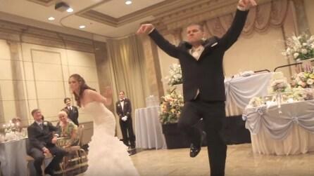 Il ballo degli sposi più bizzarro che abbiate mai visto