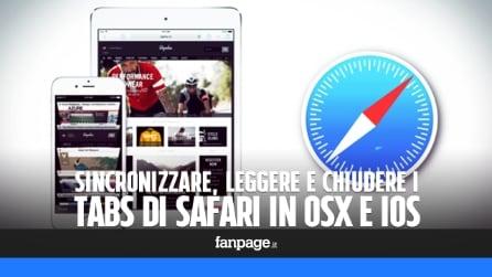 Sincronizzare, leggere e chiudere (in remoto) i siti aperti in Safari con iPhone e Mac