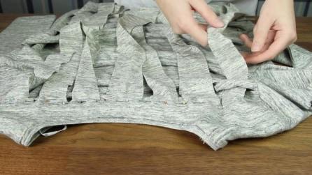 Come riciclare vecchie maglie