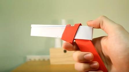 Come fare una pistola di carta funzionante