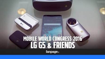 LG G5 & Friends: prova e anteprima video del nuovo smartphone modulare