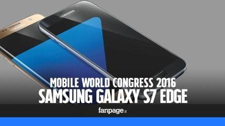 Samsung Galaxy S7 Edge: prova e anteprima video