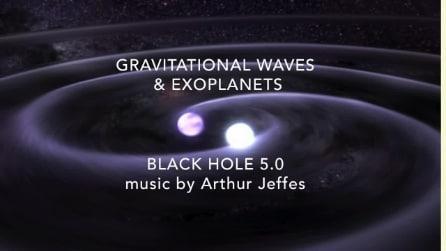 """Musicista e astrofisico creano la """"musica dell'Universo"""" col suono delle onde gravitazionali"""