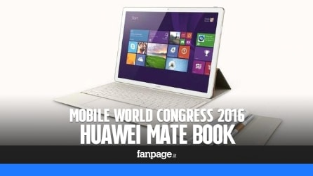 Mate Book, il tablet 2-in-1 Windows 10 secondo Huawei