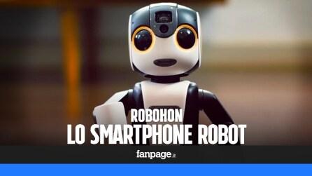 RoBoHoN, lo smartphone robot che riconosce il volto dell'utente e si controlla con la voce