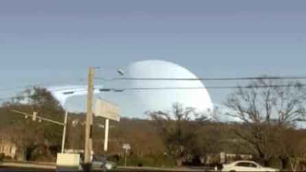 Come sarebbe l'orizzonte se al posto della Luna ci fosse Saturno