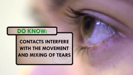 Ecco perché probabilmente lavi le lenti a contatto nel modo sbagliato