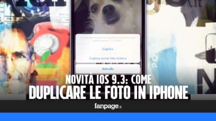 Duplicare le foto con iPhone e iPad