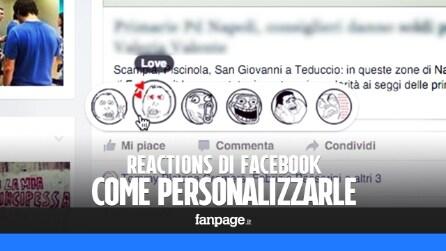 Non vi piacciono le Reazioni di Facebook? Ecco come personalizzare le faccine