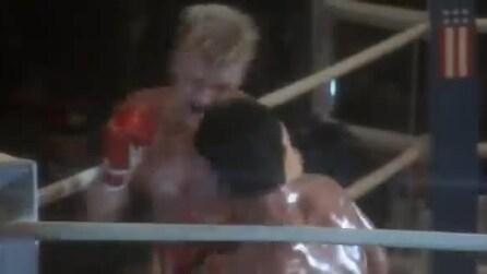 """Rocky IV, il """"non fa male"""" di Duke"""