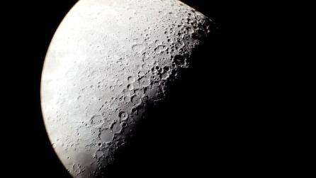 Samsung S6 e telescopio newtoniano: la Luna come non l'avete mai vista