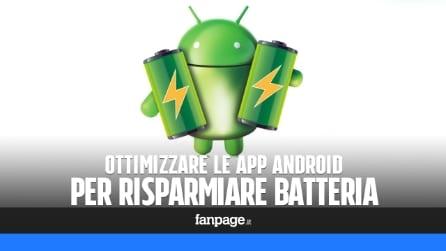 Risparmiare batteria Android ottimizzando le app