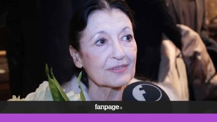 La reazione di Carla Fracci all'imitazione di Virginia Raffaele a Sanremo